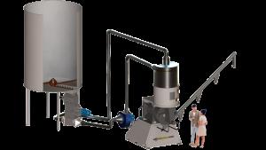 CARPENTER - Pellet Mills installations 900 kg/h